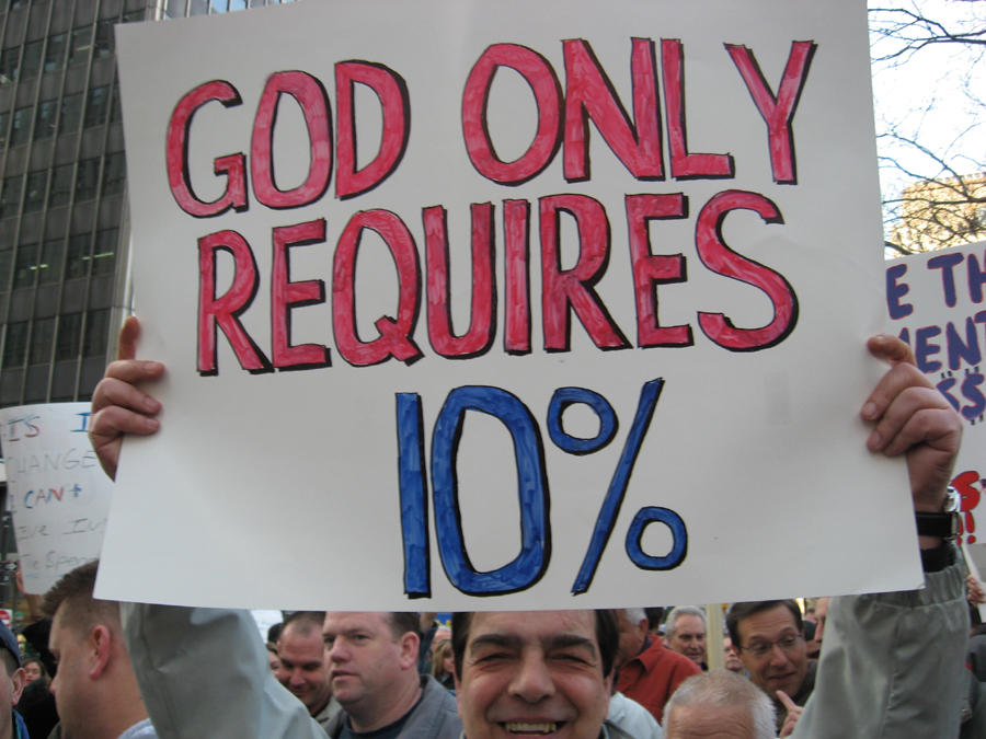 god-only-requires-ten-percent