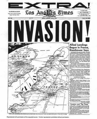 D-Day LA Times