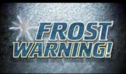 frost warning