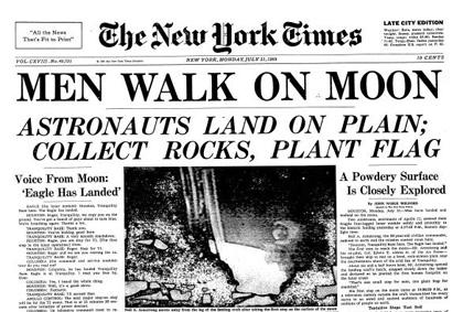 Men Walk On Moon