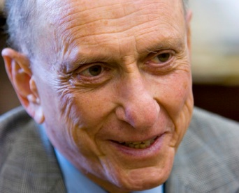 "Democrat Arlen Specter says, ""I will consider it."""