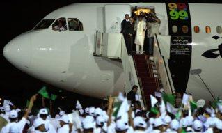 hero's welcome in libya
