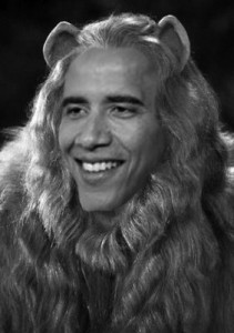 obama the cowardly lion