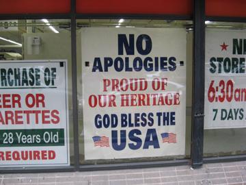 patriotic sign