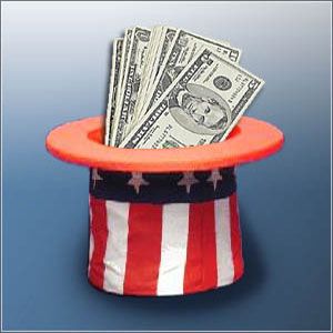 stimulus package hat